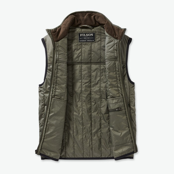 Filson Ultralight Vest - Men's - OliveGry