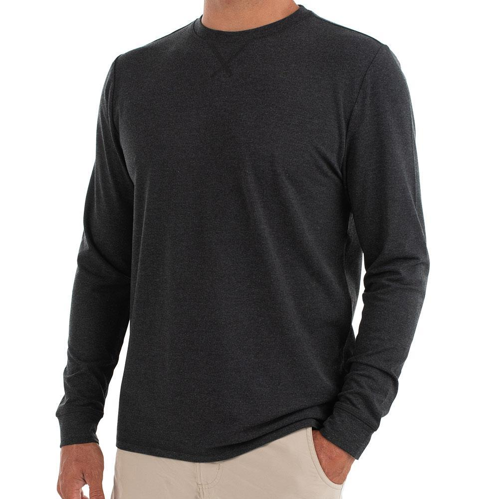 Free Fly Bamboo Flex Long Sleeve - Men's - HthrBlk