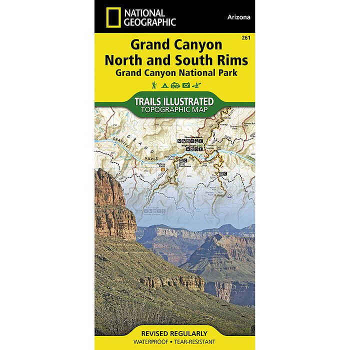 Grand Canyon National Park Map #261