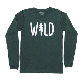 Keep Nature Wild Wild Pine Long Sleeve Tee