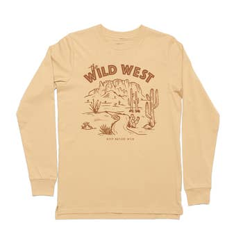 Keep Nature Wild - Wild West Long Sleeve Tee