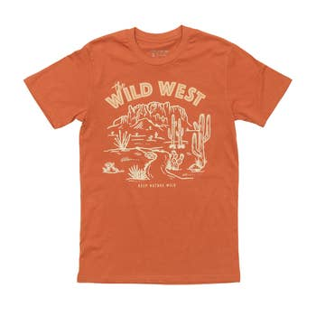 Keep Nature Wild - Wild West Tee