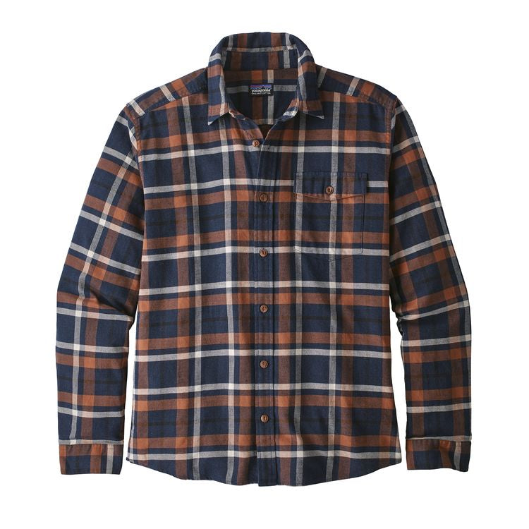 M L/S LW Fjord Flannel