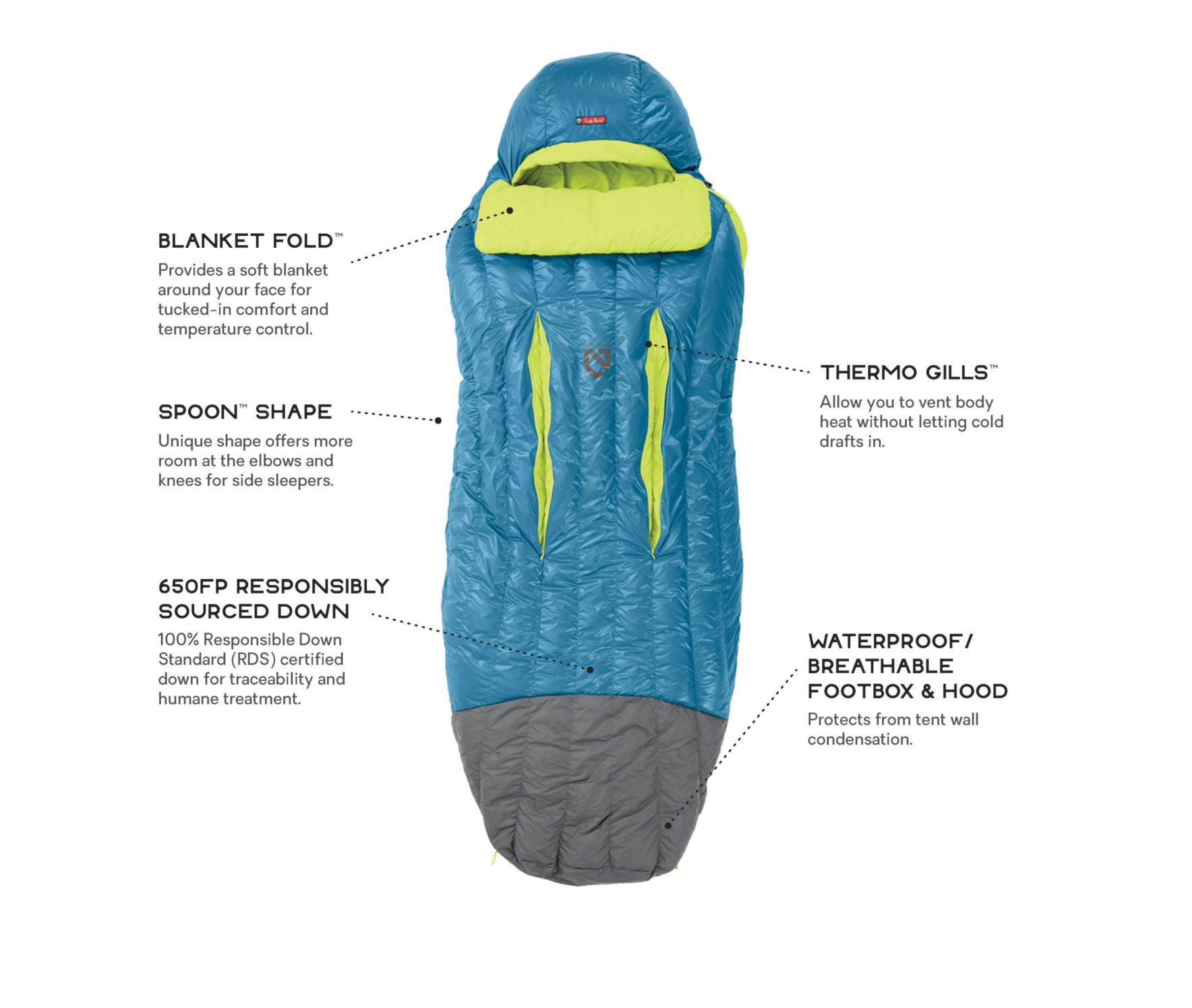 Nemo Disco Down Sleeping Bag 15°