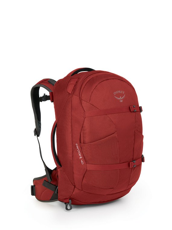 Osprey Farpoint Travel Pack Carry-On 40 - JASPER RED