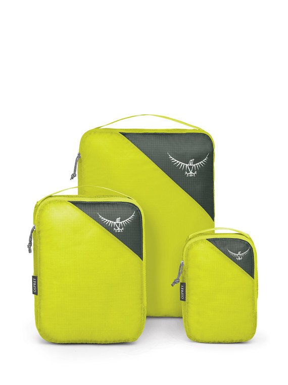 Osprey Ultralight Packing Cube Set - LIME STONE