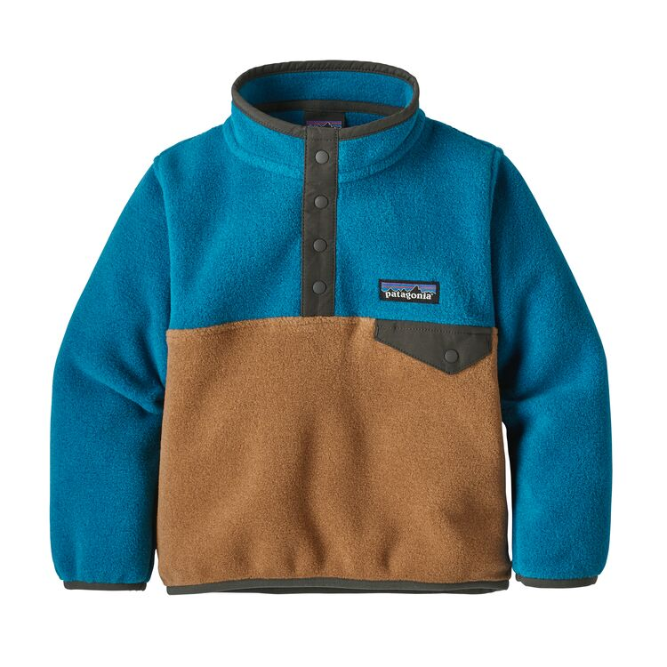 Patagonia Baby Lightweight Synchilla Snap-T Pullover - BEBR