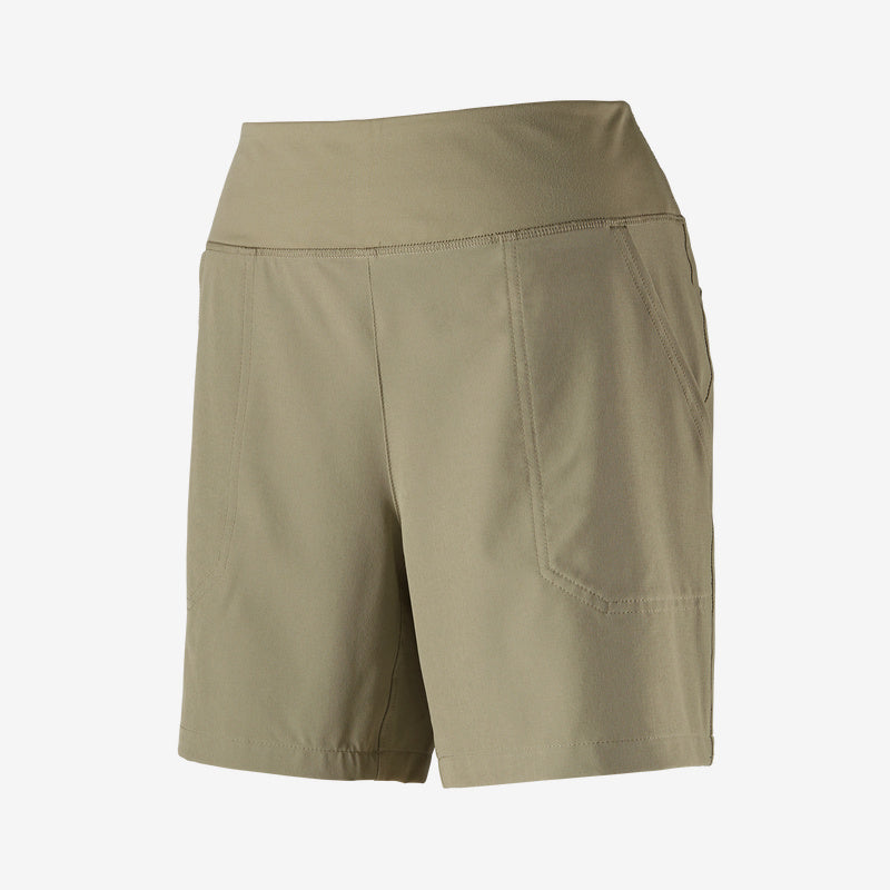 "Patagonia Happy Hike Shorts 6"" - Women's - Shale"