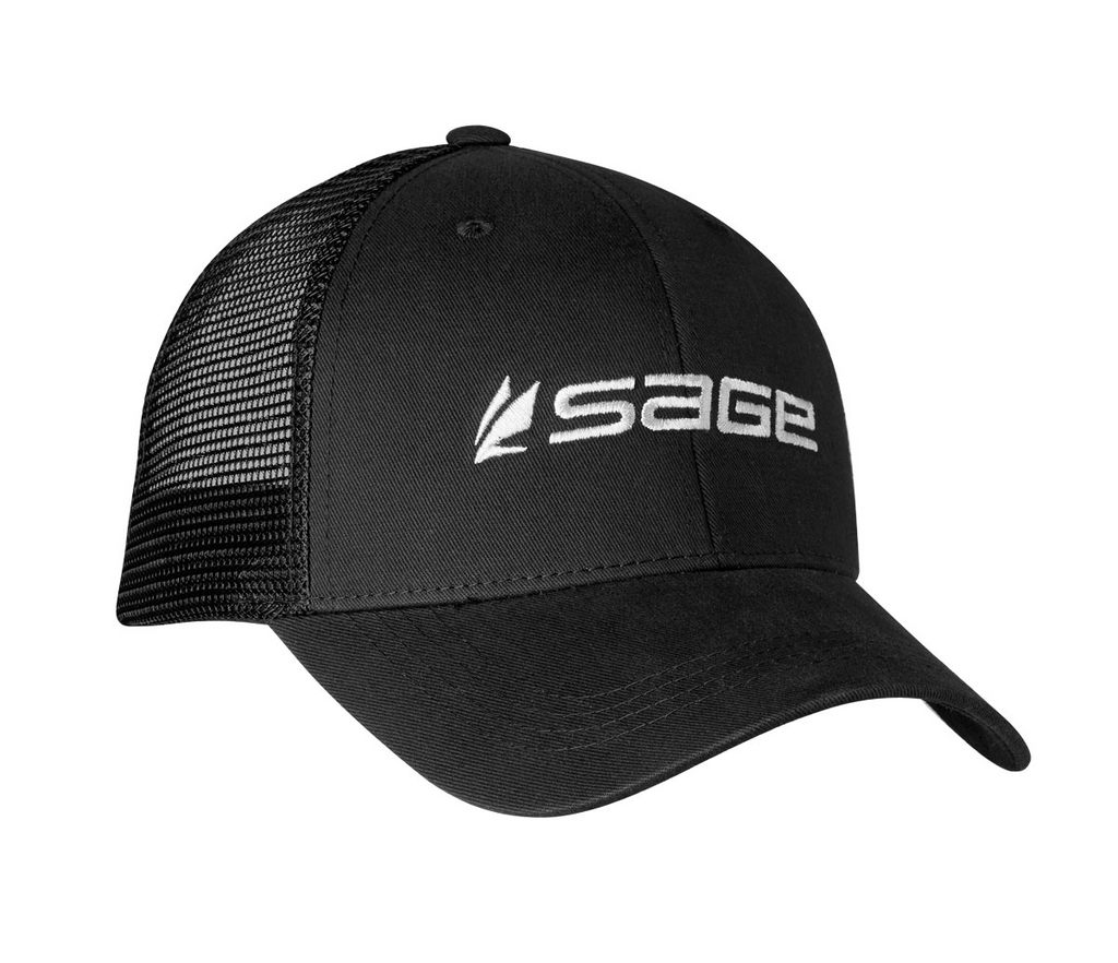Sage Mesh Back Hat - Black