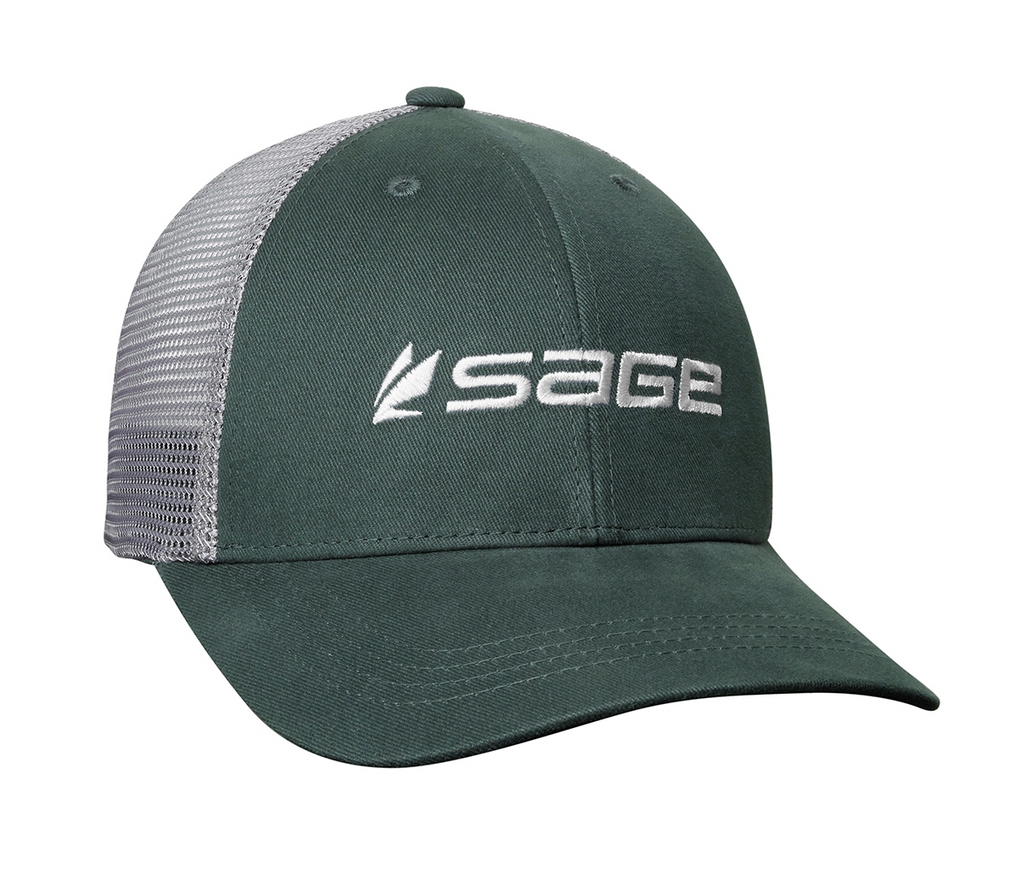 Sage Mesh Back Hat - Green
