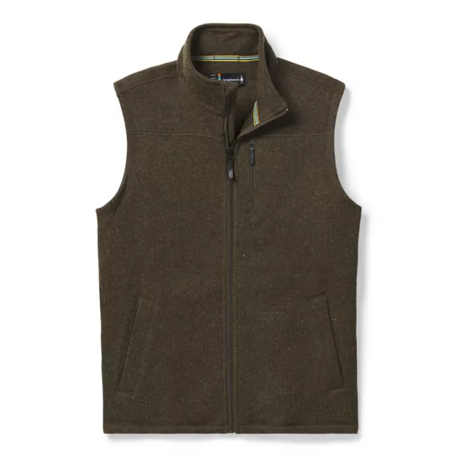 Smartwool Hudson Trail Fleece Vest - Men's - D11