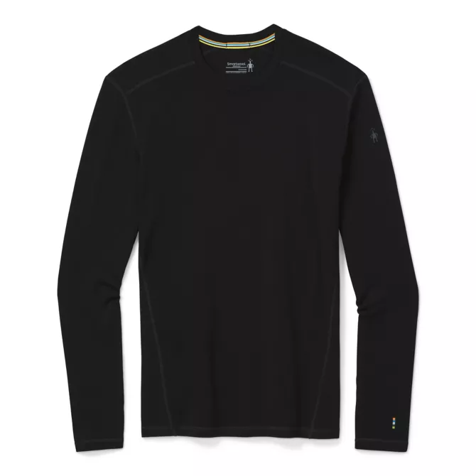Smartwool Merino 250 Base Layer Crew - Men's - Black