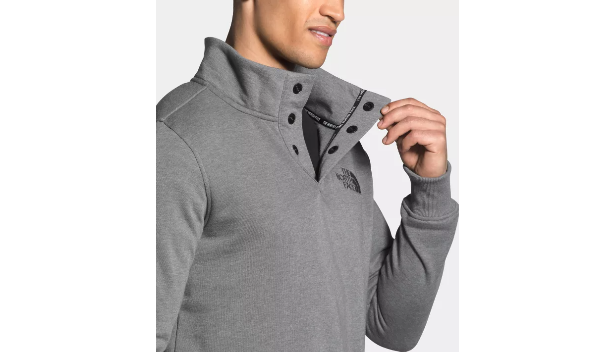 The North Face 1/4 Snap Fleece Pullover - Men's