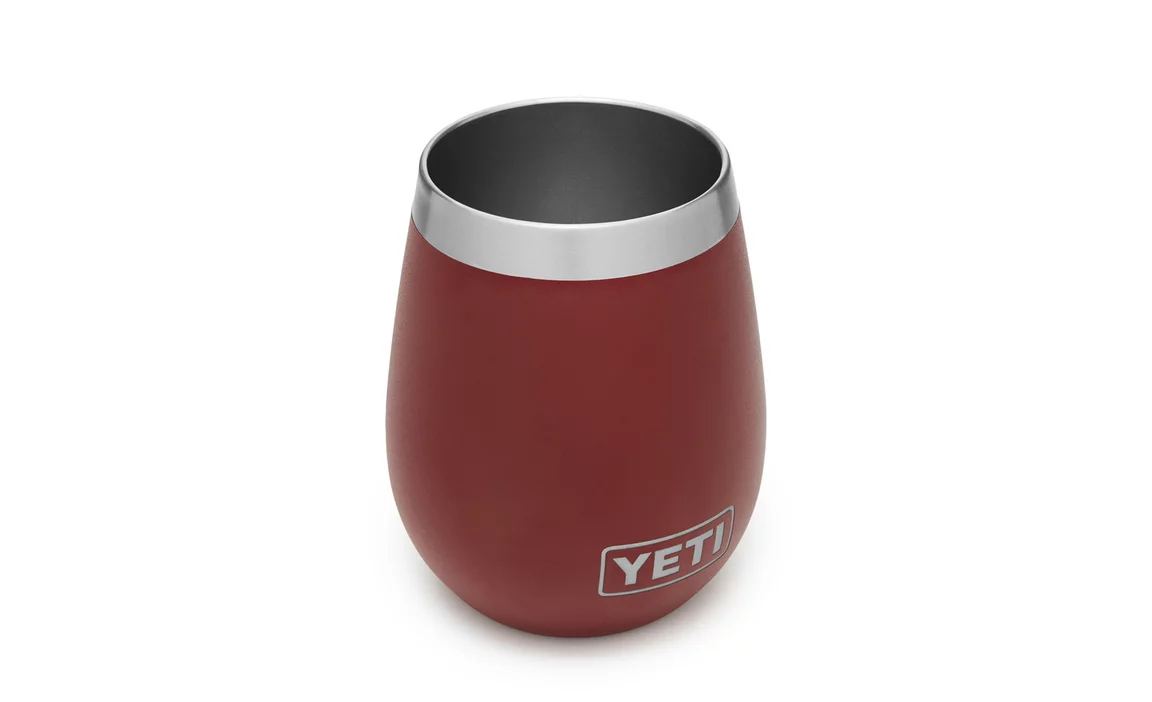 Yeti Rambler Wine Tumbler - BrickRed