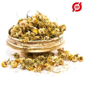 Chamomile flower, whole