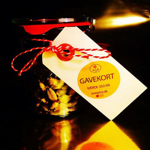 Gift card to our shop at Torvehallerne