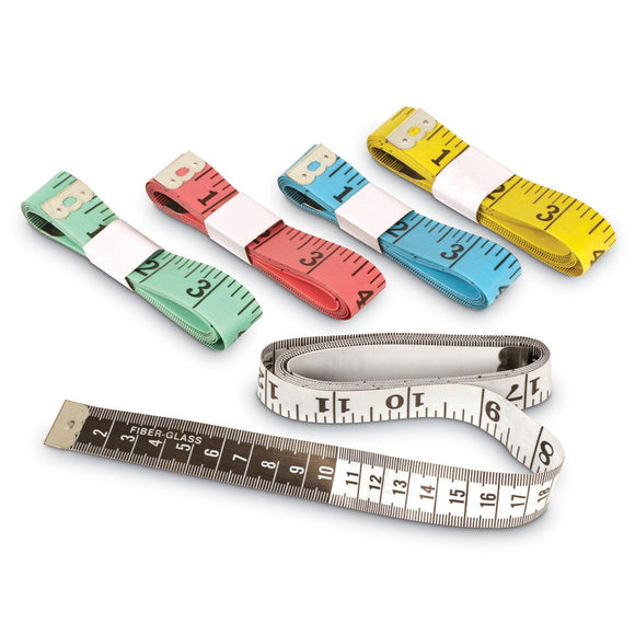 Customary/Metric Tape Measures (Set of 10)