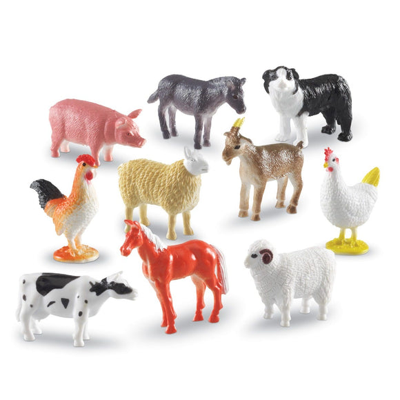 Farm Animal Counters (Set of 60)