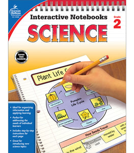 Interactive Notebook: Science, Grade 2
