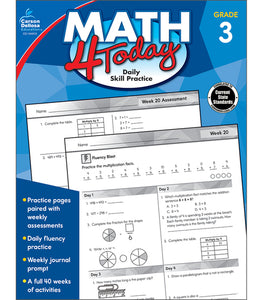 Math 4 Today, Grade 3