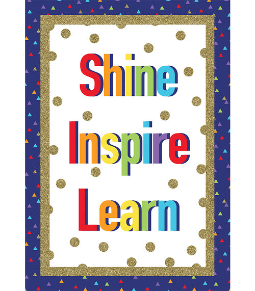 Sparkle and Shine Shine Inspire Learn