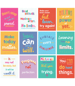 Mini Posters: Growth Mindset Quotes