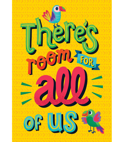 One World There's Room for All of Us Poster