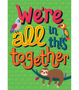 One World We're All in This Together Poster