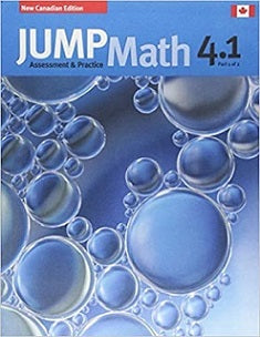 JUMP Math Student AP Book 4.1 (New Edition)