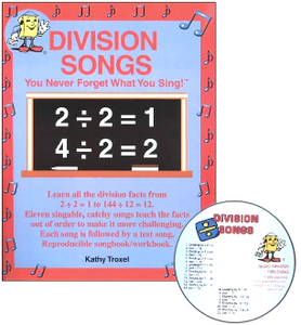 Division Songs CD Kit (CD and Book)
