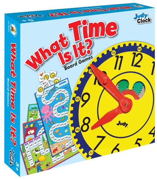 What Time Is It? Board Game, Ages 5 - 8