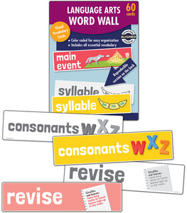 Language Arts Word Wall, Grade K