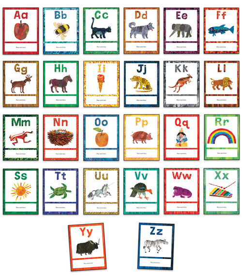 World of Eric Carle™ Alphabet Learning Cards
