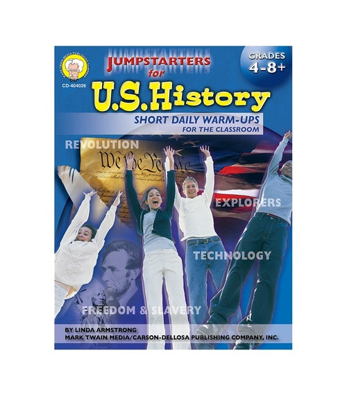 Jumpstarters for U.S. History, Grades 4 - 8