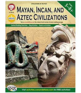 Mayan, Incan, and Aztec Civilizations, Grades 5 - 8