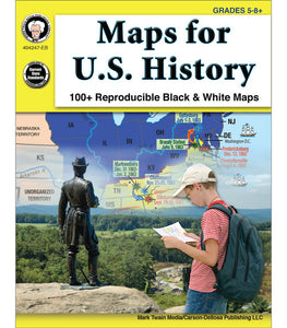 Maps for U.S. History, Grades 5 - 8