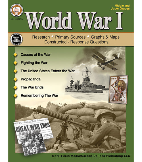 World War I, Grades 6 - 12