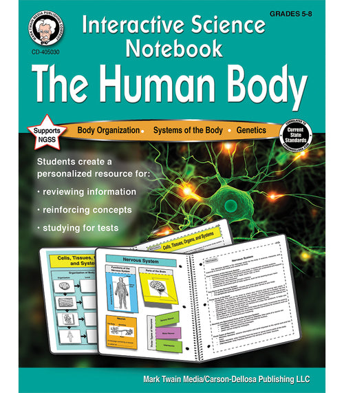 Interactive Science Notebook: The Human Body Resource Book