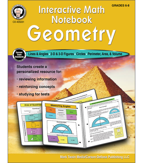 Interactive Math Notebook: Geometry Resource Book