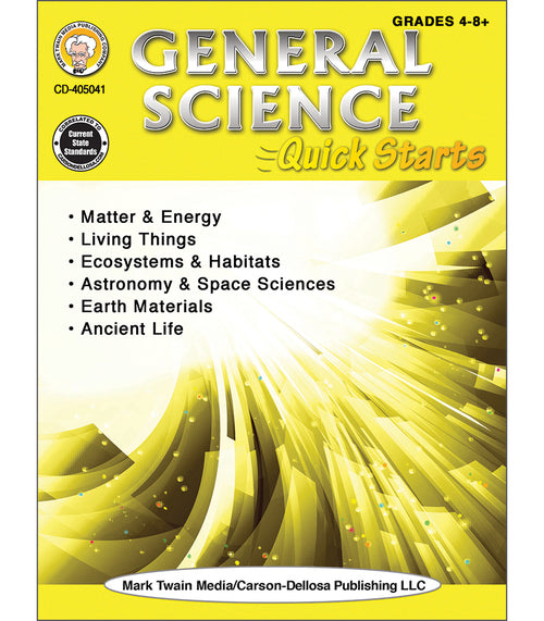General Science Quick Starts Workbook
