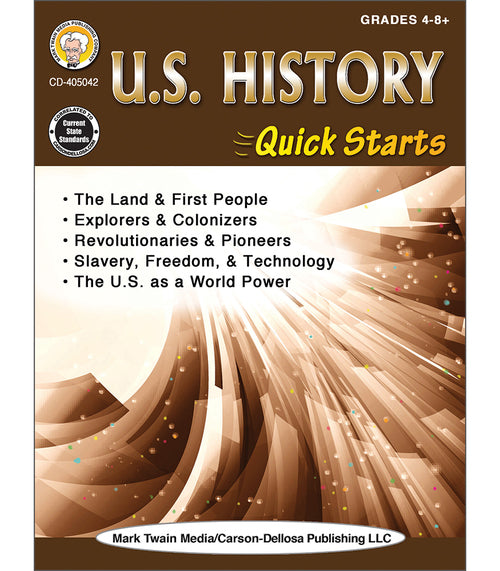 U.S. History Quick Starts Workbook