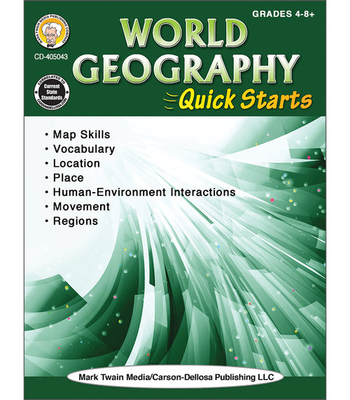 World Geography Quick Starts Workbook