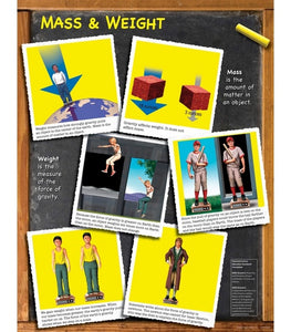 Mass and Weight Chart