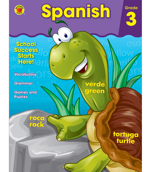 Spanish Workbook, Grade 3