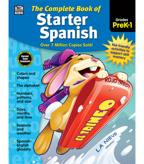 Complete Book of Starter Spanish, Grades Preschool - 1