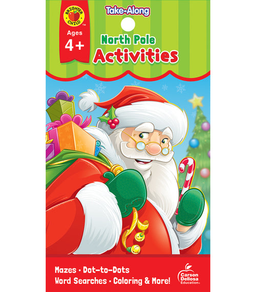 My Take-Along Tablet North Pole Activities, Ages 4 - 5