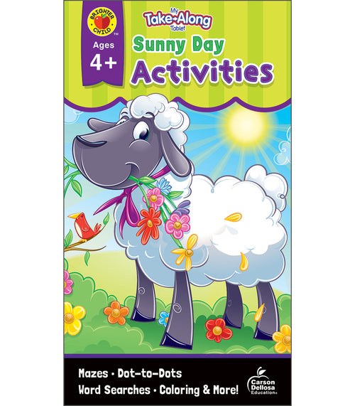 My Take-Along Tablet Sunny Day Activities, Ages 4 - 5
