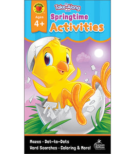 My Take-Along Tablet Springtime Activities, Ages 4 - 5