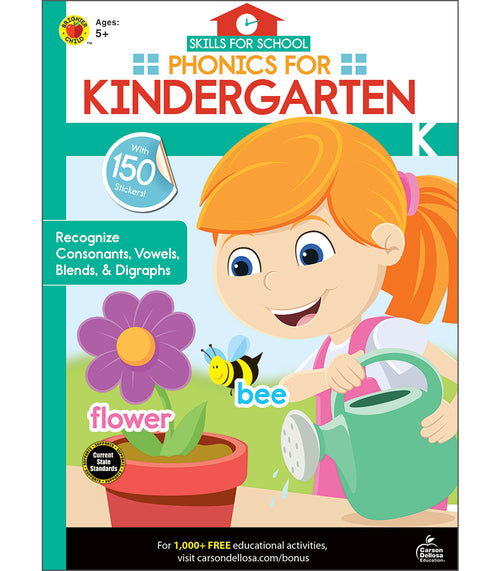 Skills for School Phonics for Kindergarten