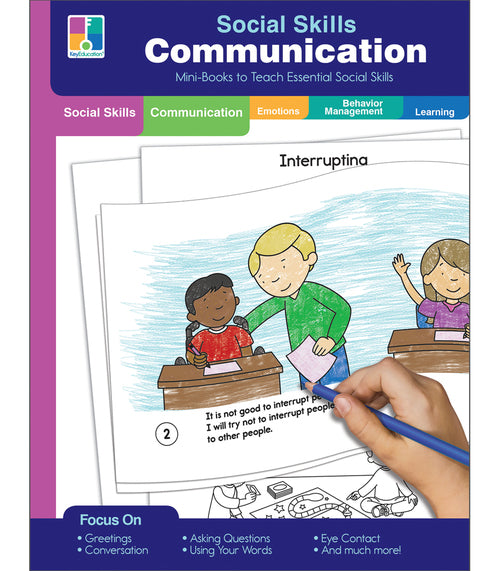 Social Skills Mini-Books Communication